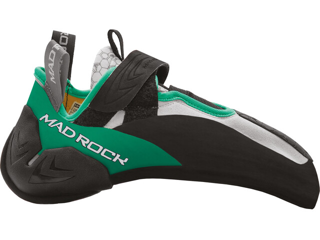 Mad Rock Drone LV Climbing Shoes, noir/vert